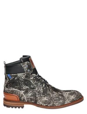 Floris van Bommel 20058 05 OffWhite Veter boots