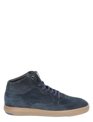 Floris van Bommel 20325 00 Navy Sneakers hoge-sneakers