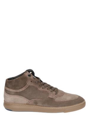 Floris van Bommel 20325 01 Taupe Sneakers hoge-sneakers