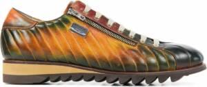 Harris Mannen Leer Sneakers Herenschoenen 2900 - Cognac - Maat 47