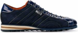 Harris Mannen Suède Lage sneakers / Sneakers / Herenschoenen / 0894 sue - Blauw - Maat 47
