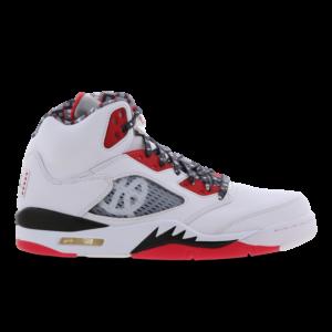 Jordan 5 Retro - Heren Schoenen - White - Leer, Synthetisch - Maat 50.5 - Foot Locker