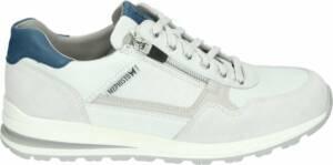 Mephisto BRADLEY - Volwassenen Heren sneakersVrije tijdsschoenen - Kleur: Wit/beige - Maat: 47