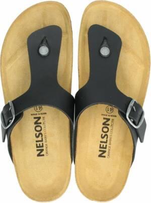 Nelson heren slipper - Zwart - Maat 47