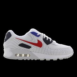 Nike Air Max 90 - Heren Schoenen - White - Textil, Leer - Maat 47.5 - Foot Locker