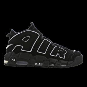 Nike Air More Uptempo - Heren Schoenen - Black - Leer, Synthetisch - Maat 49,5 - Foot Locker