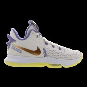 Nike Lebron Witness V - Heren Schoenen - Black - Mesh/Synthetisch - Maat 47.5 - Foot Locker