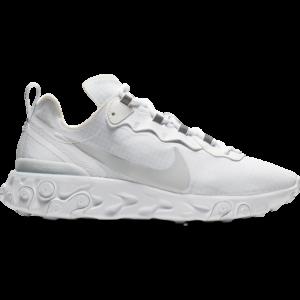 Nike React Element 55 - Heren Schoenen - White - Synthetisch, Leer - Maat 47.5 - Foot Locker