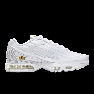 Nike Tuned 3 - Heren Schoenen - White - Leer, Synthetisch, Textil - Maat 48,5 - Foot Locker