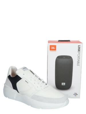 Nubikk Roque Road JBL White Lage sneakers