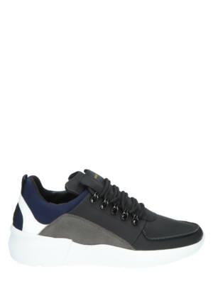 Nubikk Roque Royal 21048100 10X Black Combi Lage sneakers