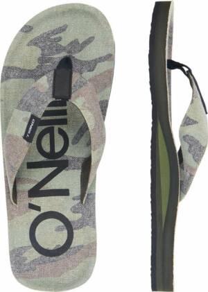 O'Neill Chad Fabric Heren Slippers - Green Aop - Maat 47