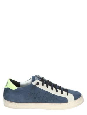 P448 John-M Mor-Nav Lage sneakers