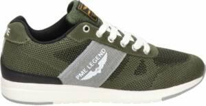PME Legend Dornierer heren sneaker - Kaki - Maat 47