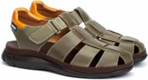 Pikolinos Oropesa MR3 - heren sandaal - groen - maat 46