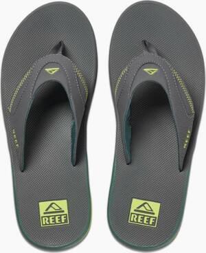 Reef Fanning Grijs - Heren Slippers - CI4010 - Maat 47