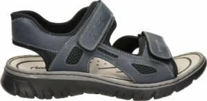 Rieker heren sandaal - Zwart - Maat 46