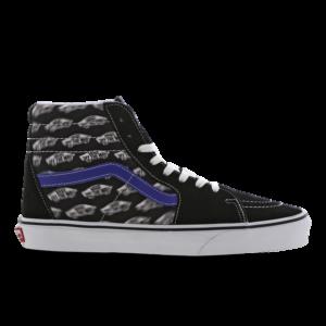 Vans Sk8-Hi - Heren Schoenen - Black - Leer, Textil - Maat 47 - Foot Locker