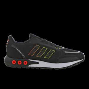 adidas LA Trainer III S - Heren Schoenen - Black - Leer, Synthetisch, Textil - Maat 48 - Foot Locker