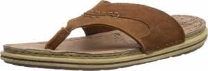 camel active 349.13.01 - heren slipper - bruin - maat 46