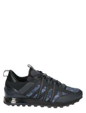 Cruyff Fearia Black Grey Lage sneakers
