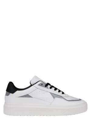 Cruyff Mosaic White Silver Lage sneakers