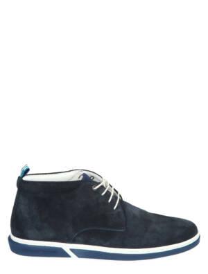 Floris van Bommel 20350 Dark Blue G+ Wijdte Veter boots