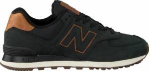 New Balance Ml574 Lage sneakers - Heren - Zwart - Maat 47+
