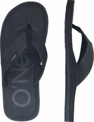 O'Neill Chad Logo Heren Slippers - Black Out - Maat 46