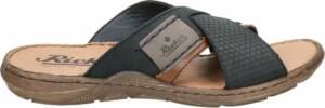 Rieker heren slipper - Blauw - Maat 47