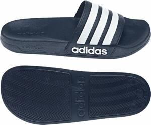 adidas Adilette Shower Slides Heren, blauw Schoenmaat UK 14   EU 50