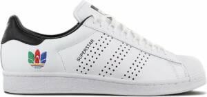 adidas Originals Superstar - Heren Sneakers Sport Casual Schoenen Wit Zwart FW5388 - Maat EU 47 1/3 UK 12
