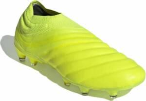 adidas Performance Copa 19+ Fg De schoenen van de voetbal Mannen geel 47 1/3