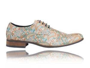 Colorful Paisley - Lureaux - Handgemaakte Nette Schoenen Voor Heren