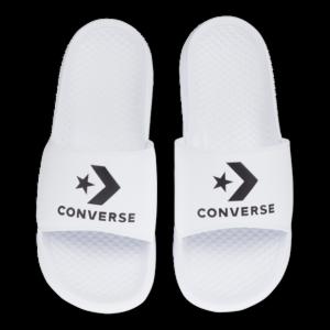 Converse All Star Slide - Heren Slippers en Sandalen - White - Leer - Maat 48 - Foot Locker