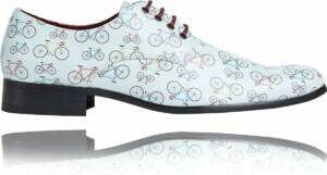 Cyclie - Maat 48 - Lureaux - Kleurrijke Schoenen Voor Heren - Veterschoenen Met Print