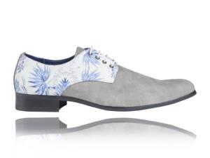 Delft Blue - Lureaux - Handgemaakte Nette Schoenen Voor Heren