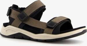 ECCO X-Trinsic leren heren sandalen - Grijs - Maat 47