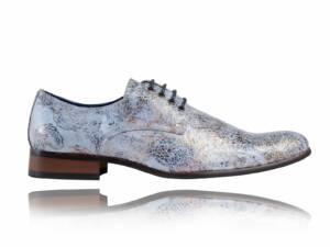 Sandy Blue - Lureaux - Handgemaakte Nette Schoenen Voor Heren