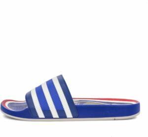 adidas Originals Adilette Premium sandalen Mannen blauw 46